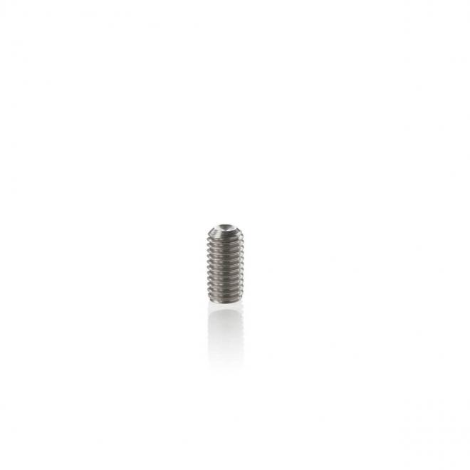 Shaft nut locking screw
